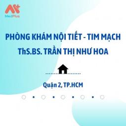 Phòng Khám Nội Khoa - Tim Mạch - ThS.BS Trần Thị Như Hoa