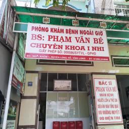 Phòng Khám Nhi Khoa - BS Phạm Văn Bé