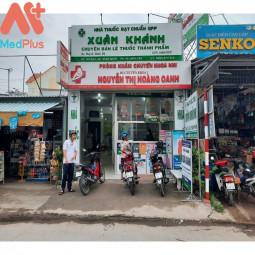 Phòng khám Nhi khoa- BSCKI. Nguyễn Thị Hoàng Oanh