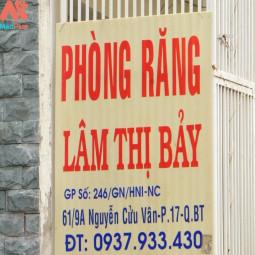 PHÒNG RĂNG BS LÂM THỊ BẢY