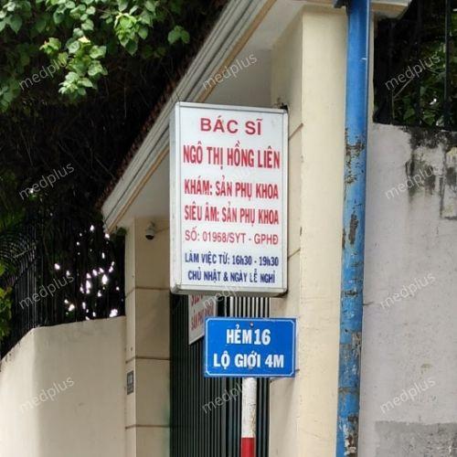 Phòng khám sản phụ khoa - BS. Ngô Thị Hồng Liên