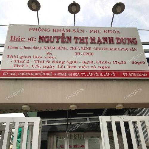 Phòng Khám Sản – Phụ Khoa BS.Nguyễn Thị  Hạnh Dung